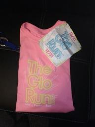 Glo Marathon shirt and bib